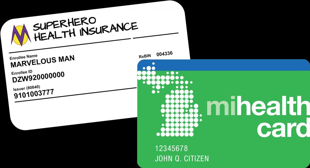 بطاقات التأمين الصحي